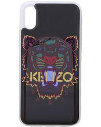 KENZO Cover Nera Tiger Per I Phone X E Xs - Nero