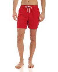 Polo Ralph Lauren Costume Da Bagno - Rosso