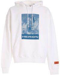 Heron Preston - Blue Print Litho Sweatshirt - Lyst