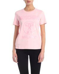 Moschino Milano T-shirt - Pink