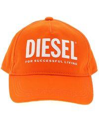 DIESEL Ftollyb Cap - Orange
