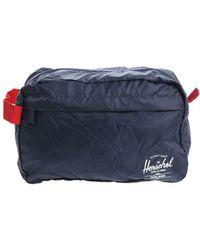 """Herschel Supply Co. - Beautycase """"Toil"""" blu - Lyst"""