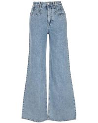 Isabel Marant Jeans Lemoni Azzurri - Blu
