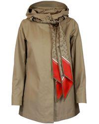 Herno - Delon Scarf Jacket - Lyst