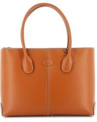 Tod's D-bag Medium Tote - Brown