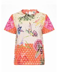 Genny Multicolor Drilled T-shirt