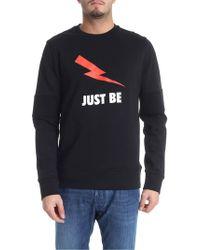 Neil Barrett - Just Be Print Sweatshirt - Lyst