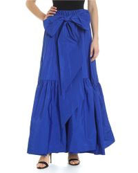 P.A.R.O.S.H. - Electric Blue Wheel Skirt - Lyst
