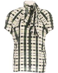 Ballantyne Checked Print Shirt - Green