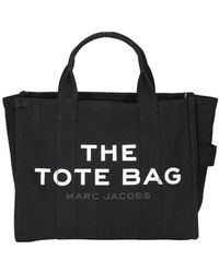 Marc Jacobs Small Traveller Tote Bag - Black