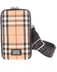 Burberry Vintage Check Beige Iphone Case - Natural