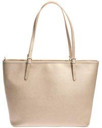 Lancaster Paris - Saffiano Effect Leather Bag - Lyst