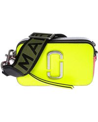 Marc By Marc Jacobs - Snapshot Camera Bag In Neon Yellow - Lyst