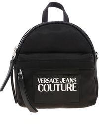Versace Jeans Logo Backpack - Black