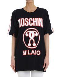 Moschino T-Shirt Stampa Logo - Nero