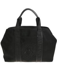 Balmain - Black Tote Bag With Logo - Lyst