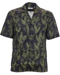 Paolo Pecora Printed Shirt - Green