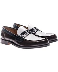 Church's - Brushed Leather Pembrey Loafers - Lyst