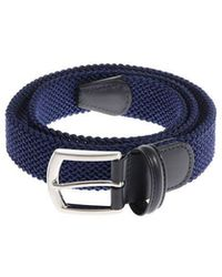 Andersons - Braided Fabric Belt - Lyst
