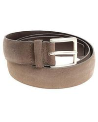Orciani - Taupe Belt - Lyst
