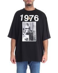 Fausto Puglisi 1976 Black T-shirt