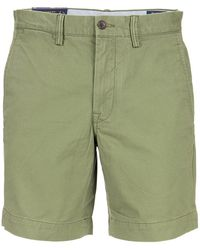Ralph Lauren Stretch Cotton Bermuda Shorts - Green