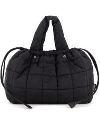 Aspesi Quilted Padded Bag - Black