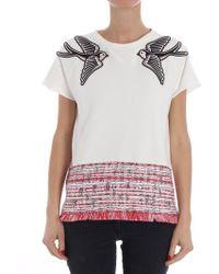 Karl Lagerfeld - Short-sleeves Sweatshirt - Lyst