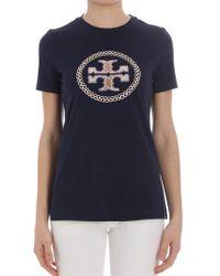 Tory Burch - Maya T-shirt - Lyst