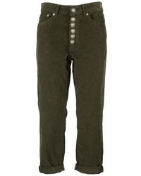 Dondup Koons Trousers - Green