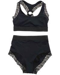 Pinko Shorthair Bikini - Black