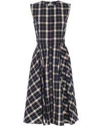 Woolrich Checked Dress - Natural
