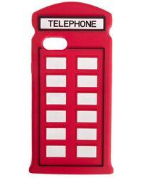 Lulu Guinness Iphone 7 Telephone Case - Red