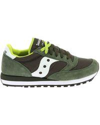 """Saucony - Green """"jazz Original"""" Sneakers - Lyst"""
