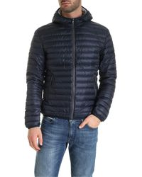 Colmar Quilted Down Jacket - Blue