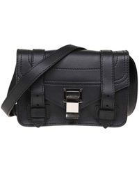 Proenza Schouler - Ps1 Mini Crossbody Bag In Black - Lyst