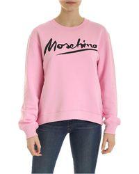 Moschino - Signature Sweatshirt - Lyst