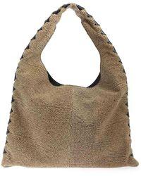 Borbonese Medium Chelsea Bag - Natural
