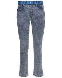 Stella McCartney Faded Denim Jeans - Blue