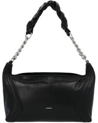 Pinko Medium Hobo Bag - Black