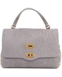 Zanellato Postina S Jones Grey Bag