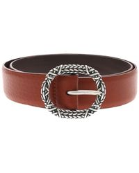 Orciani Soft Leather Belt With Buckle - Multicolor