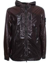 Stone Island Tc Packable Jacket - Black