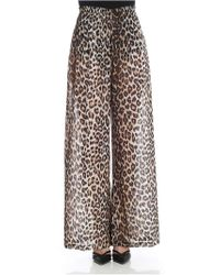 Jucca - Animlier Palazzo Trousers - Lyst