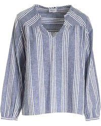 Woolrich Long Sleeves Blouse - Blue