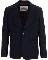 Vivienne Westwood - Single-breasted Wool Jacket - Lyst