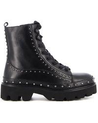 Pinko Cingoli 1 Combat Boots - Black
