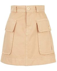 See By Chloé - Cargo Mini Skirt - Lyst