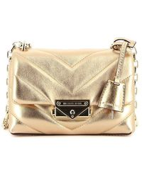 Michael Kors Cece Extra Small Quilted Leather Bag - Metallic