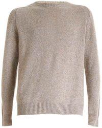 Dondup Melange Beige Pullover - Natural